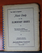 Guide to Organized Music Study Elementary Grades by Jenkins Music KC MO date?
