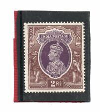 India GV1 1937 2r purple & brown sg 260 NHM