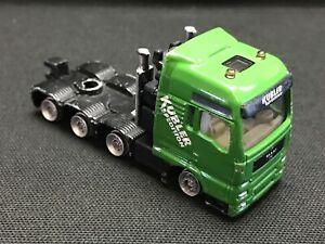 Siku MAN Green Truck Rig