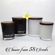 HIGHLY SCENTED 100% NATURAL SOY WAX CANDLE 35 63 hr burn time CHOOSE SCENT gift