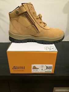Mongrel Boots 961050, Wheat Nubuck, Soft Toe, Non Safety, Zip Sider.