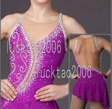 Brand New Figure Skating Ice Skating Competition Dress Kid/Adult Costume 8883
