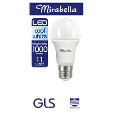 Mirabella LED Globe GLS Edison Screw 11 watt Cool White 1 each