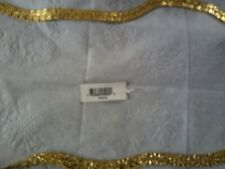 Gold Neckless Retails For $100 Have Tag Brand New Mens D/A 18Kovs Plate Leafbrac