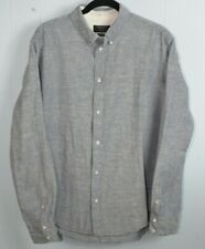 Rag & Bone::  Mens (XL) Slim Fit Blue Cotton Button Down Shirt *see Photos/cond