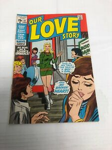 Our Love Story #11 (1971) A Boy, a Girl, and My Broken Heart