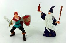 PAPO FIGURES MEDIEVAL Set * LOT Fantasy WIZARD & PRINCE