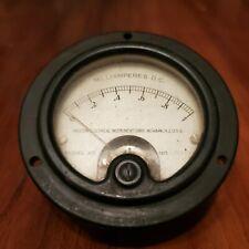 Vintage Weston Electrical Instrument Gauge Model 301 Milliamperes Dc