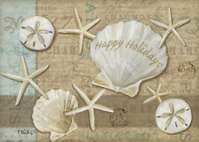 Holiday Shells 18 Boxed Christmas Cards by Lpg Greetings