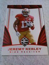 Jeremy Kerley 2016 Limited Ruby Spotlight /10 49ers