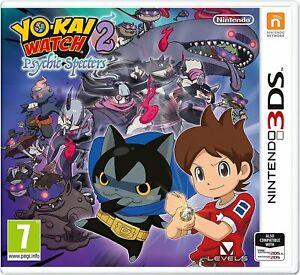 Yo-Kai Watch 2: Psychic Spectres | Nintendo 3DS 2DS New