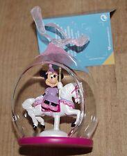 Disney store minnie mouse carousel babiole arbre de noël décoration ornement