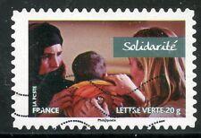 TIMBRE FRANCE AUTOADHESIF OBLITERE N° 806 /  SPORT / VALEURS DE FEMMES