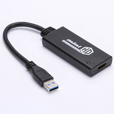 HD 1080P USB3.0 To HDMI Video Cable Adapter Converter For PC Laptop Free Driver