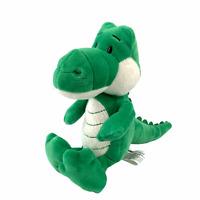 "Kinder Surprise Green Alligator Crocodile Dino Plush Stuffed Animal Soft 9"" Toy"