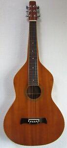 Lap Steel - Hawaigitarre - WB Weissenborn Gitarre mit Sapele-Decke