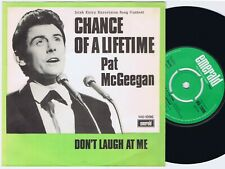 PAT McGEEGAN Chance Of A Lifetime Danish 45PS 1968 eurovision