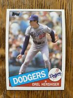 1985 LOS ANGELES DODGERS Topps Complete MLB Team Set 27 Cards VALENZUELA SAX