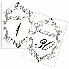 Aozora 30 Pieces Sliver Table Number Holders Table Card Photo Menu Name