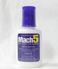 OPI Nail MACH 5 Second Fast Set Nail Glue Adhesive .5oz/14g