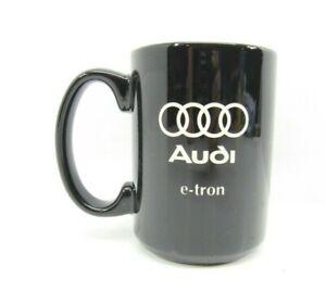 Audi e-tron Black White Mug Cup Porcelain Automotive Standard