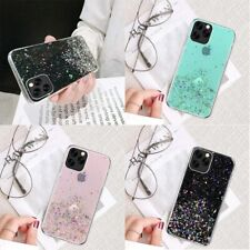 Crystal Case Silicone Soft Glitter Slim Clear Cover Rubber For iPhone 11 Pro Max