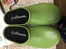 Sloggers Women's Premium Garden Clog Premium Insole, Kiwi Green Size 7  mint