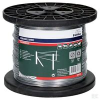 1.6MM GALVANISED FENCING WIRE 500M Electric Fence Solid Single Strand Steel
