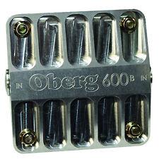 """Oberg 6"""" 600B Series Billet Oil Filter w/ 60 Micron Screen - SKU 6060"""