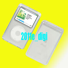 Crystal Clear Hard Case for iPod 5G 6G VIDEO 30GB Classic 80GB 120GB 160GB(2009)