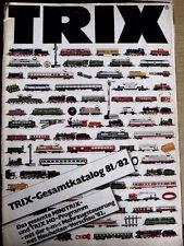 Catalogo TRIX Minitrix 1981-82 scala H0 N - DEU - Tr.13