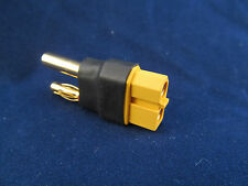New HXT 4mm to XT60 Female Connector No Wire Adapter wireless XT-60 Bullet US