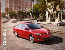 2011 11 Toyota Corolla  oiginal sales brochure MINT