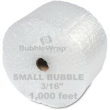 "Bubble Wrap 1000 ft  x 12"" Small Sealed Air 3/16 Best"