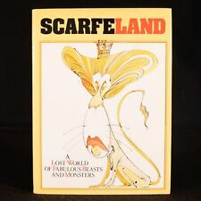 1989 Scarfe Land Gerald Scarfe First Edition Signed Illustrated