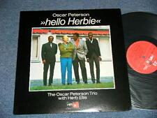 OSCAR PETERSON TRIO with HERB ELLIS Japan 1975 NM LP HELLO HERBIE