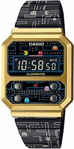 Casio watch Collaboration with Pac-Man A100WEPC from Japan pacman game color PSL