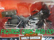 MOTO 1/18 HARLEY DAVIDSON  FLT TOUR GLIDE 1980 MAISTO 2004 BOITE