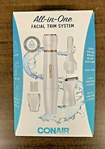 NEW Conair Satiny Smooth all-in-one Facial Trim System New In The Box Ships Free