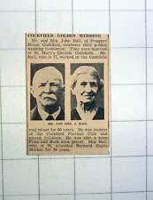 1939 Mr And Mrs John Hall Prospect House Cockfield Barnard Castle Market