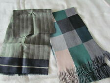 """64"""" New Fraas Knitted Lot Double Layer Men Silk Wool Vintage Scarf Ascot Opera"""