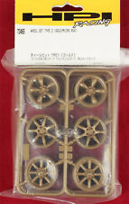 HPI 73465 Micro RS4 Gold Wheel Set Type 2