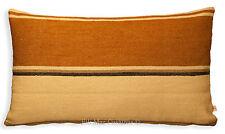Pierre Frey Designer Normande Striped Brown Neutral Linen Cushion Pillow Cover