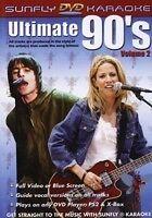 ULTIMATE 90's VOL 2 KARAOKE MULTIPLEX DVD 12 HIT SONGS