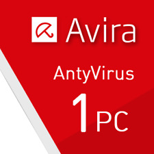 Avira Antivirus Pro 2018 1 PC VOLLVERSION 1 GERÄT 2017 DE EU