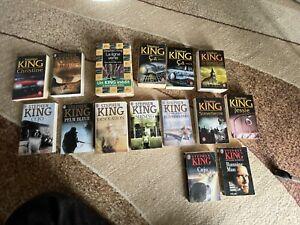 STEPHEN KING - LOT DE 24 LIVRES