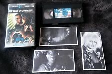 ***BLADE RUNNER VHS Director's cut SPECIAL EDITION*** w/ COLLECTOR PACK CARDS.