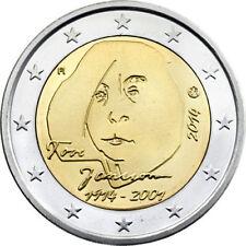 2 EURO COMMEMORATIVA FINLANDIA 2014 - 100° DELLA NASCITA DI TOVE JANSSON - FDC -