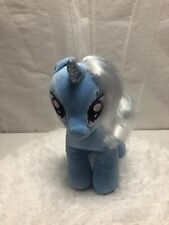Build A Bear My Little Pony Rare Unicorn Princess Trixie Blue Horse Moon Wand