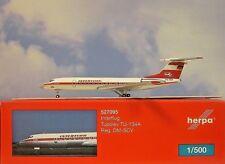 Herpa Wings 1:500 Tupolev tu-134a Interflug DM-SCV 527095 modellairport 500